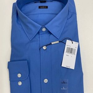 NEW MICHAEL KORS BLUE TAILORED FIT BUTTON DOWN!